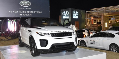 Range Rover Evoque 2016 (Fotos British House)