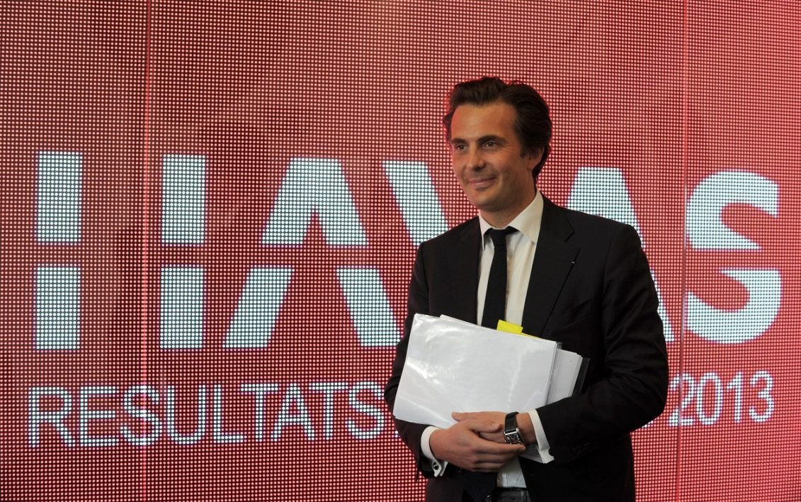 Yannick Bolloré, CEO de Havas Group.