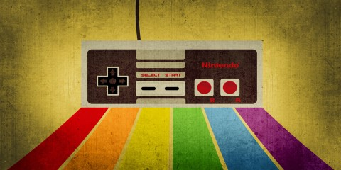 Nintendo Retro Gaming HD Wallpaper